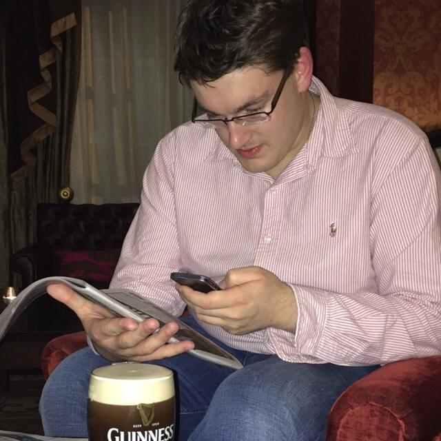 Cormac's tinder account profile image on Tinderviewer.com